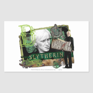 Draco Malfoy Collage 1 Rectangular Sticker
