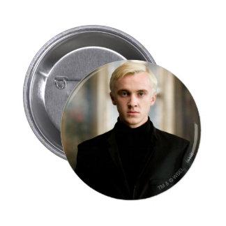 Draco Malfoy derecho Pin Redondo De 2 Pulgadas