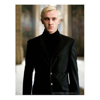 Draco Malfoy derecho Tarjetas Postales