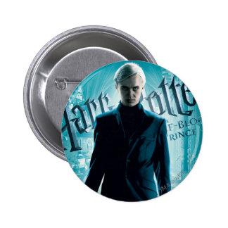 Draco Malfoy Pin Redondo De 2 Pulgadas