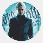 Draco Malfoy Round Sticker