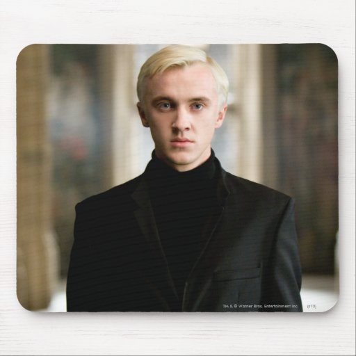 Draco Malfoy Straight On Mousepads