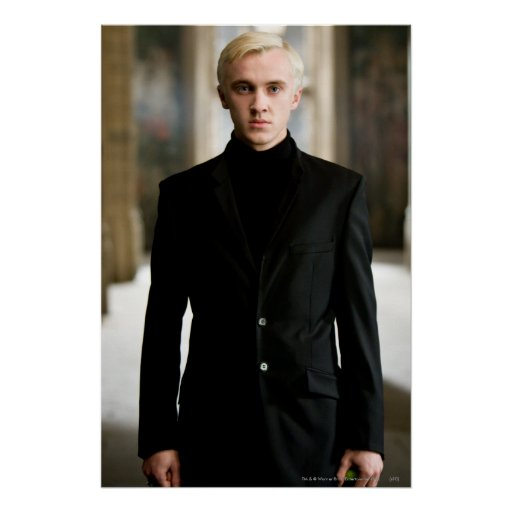 Draco Malfoy Straight On Poster