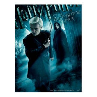 Draco Malfoy y Snape 1 Postal