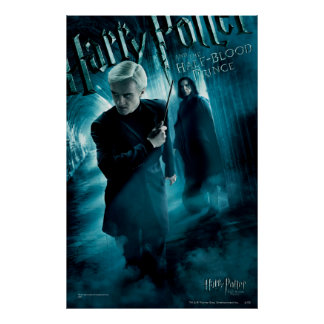 Draco Malfoy y Snape 1 Póster