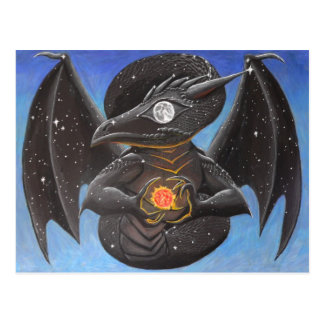 Draco Nocturne Postcard