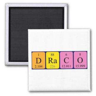 Draco periodic table name magnet