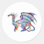 Draco Round Stickers