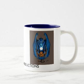 DRACO SIMIAN PRODUCTIONS Two-Tone COFFEE MUG