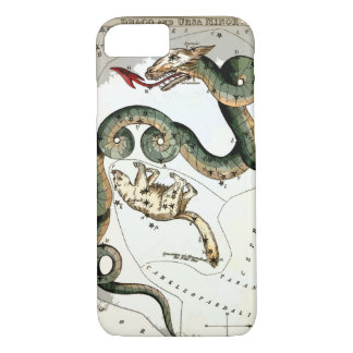DRACO Star Cluster map of the Heavens iPhone 8/7 Case