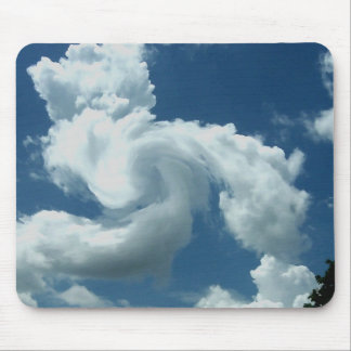 Draco the cloud mouse pad