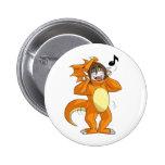 Dracodino Pinback Buttons