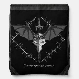 Draconian Warrior Drawstring Bag