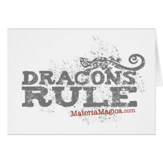 Dracons Rule - Cards