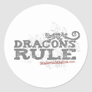 Dracons Rule - Sticker