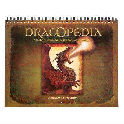 Dracopedia Wall Calendar