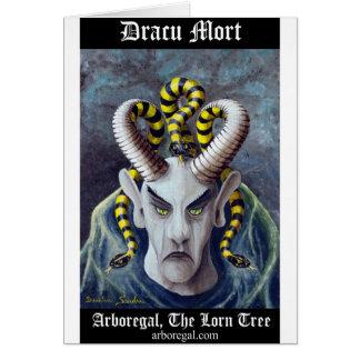Dracu Mort T Bk Greeting Card