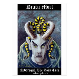 Dracu Mort T Bk Postcard