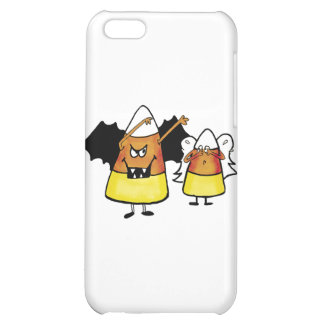 Dracula and Angel Candy Corn Cover For iPhone 5C