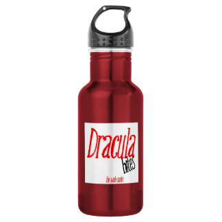 Dracula Bites Water Bottle
