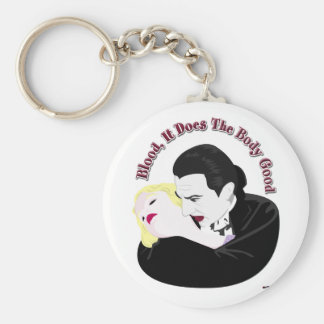 Dracula, Blood It Does The Body Good Basic Round Button Keychain