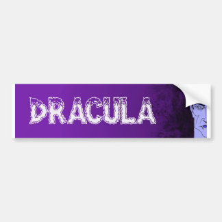 Dracula Bumper Sticker