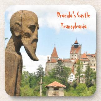 Dracula Castle in Bran, Brasov, Transylvania Beverage Coaster