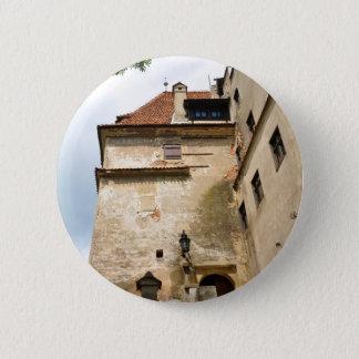Dracula Castle in Bran, Brasov, Transylvania Pinback Button