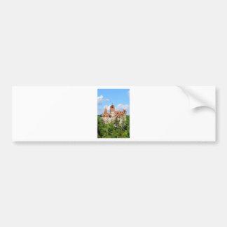 Dracula Castle in Transylvania, Romania Bumper Sticker