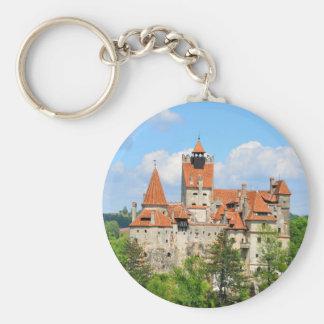 Dracula Castle in Transylvania, Romania Keychain