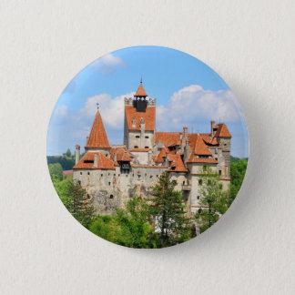 Dracula Castle in Transylvania, Romania Pinback Button