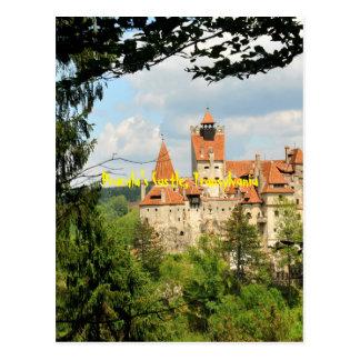Dracula Castle in Transylvania, Romania Postcard