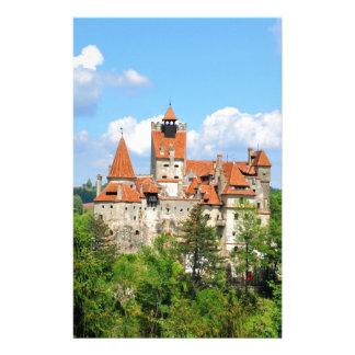 Dracula Castle in Transylvania, Romania Stationery