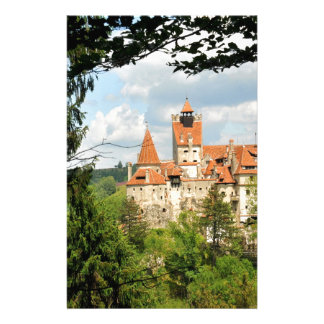 Dracula Castle in Transylvania, Romania Stationery