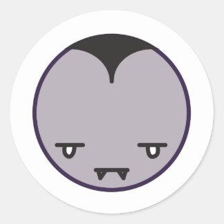 Dracula Classic Round Sticker