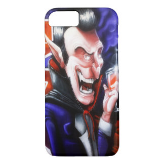 Dracula drinks blood iPhone 7 case