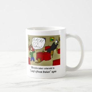 Dracula Garlic Bread mug
