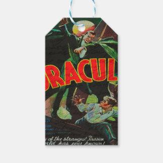 Dracula Gift Tags
