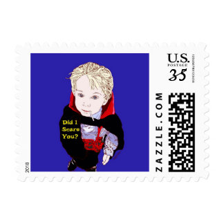Dracula in Training Postage Stamp