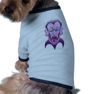 Drácula malvado prenda mascota