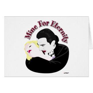 Dracula, Mine For Eternity Card