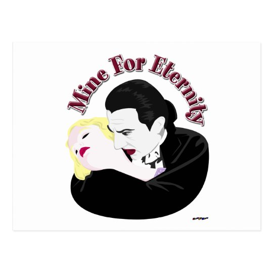 Dracula, Mine For Eternity Postcard