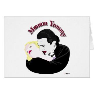 Dracula, Mmmm Yummy Card