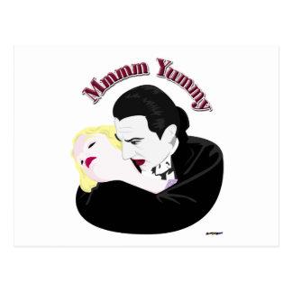 Dracula, Mmmm Yummy Postcard