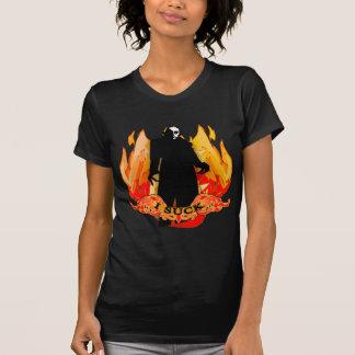 Drácula Nosferatu que CHUPO con las llamas Playera