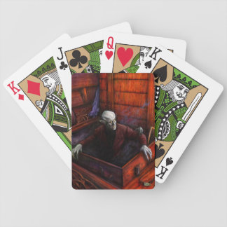 Dracula Nosferatu Vampire Bicycle Playing Cards