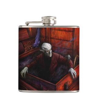 Dracula Nosferatu Vampire Hip Flask