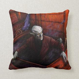 Dracula Nosferatu Vampire Pillow