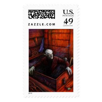 Dracula Nosferatu Vampire Stamp