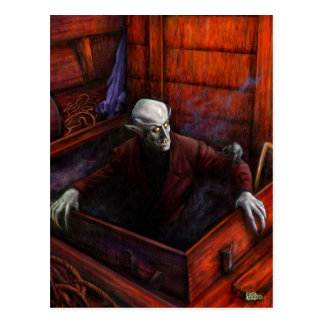 Dracula Nosferatu Vampire Postcard